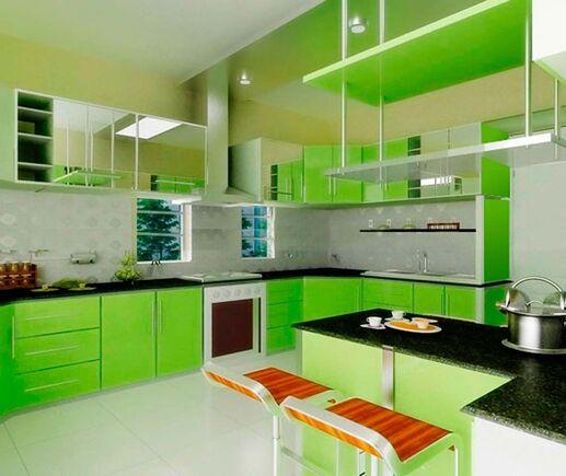 Кухня Зелень