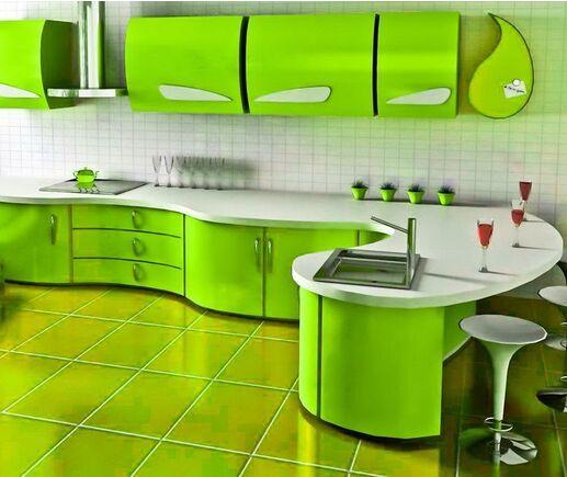 Кухня Сочный лайм
